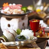 調理長おすすめ!!鳥取和牛&あわび&朝獲れ鮮魚など☆季節の会席料理☆堪能プラン♪