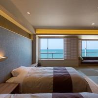 和モダン・THE HORIZON☆海側和室+ベッド