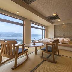 海眺めの特別室【16畳+小上がり4.5畳ステージベッド】