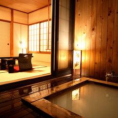 露天風呂付き和室