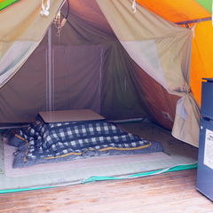 【夏期5/1〜9/30】仙酔島キャンプ場宿泊