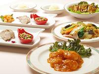 「ちいさな旅へ出かけよう!」中国料理桃苑で主菜を二品選べる夕食付プラン 朝食付