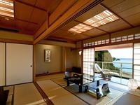 【最上階貴賓室】駿河湾を見渡せゆったりと寛げる純和風のお部屋