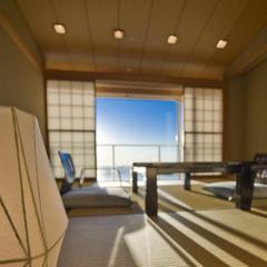 ☆駿河湾をひとりじめ☆ 和室10畳と洋室でのんびりと…