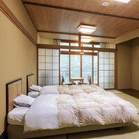 【和室12畳/ベッド付】〜楽々のベッドをご用意した和室