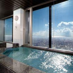 ■PREMIUM リラクゼーション≪展望浴場利用・朝食付≫ 全室32階以上 駅近のシティリゾート