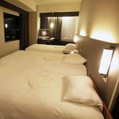 《ご家族やお友達とのご宿泊に》1室3名様利用・添寝のお子様ご利用可能/朝食付