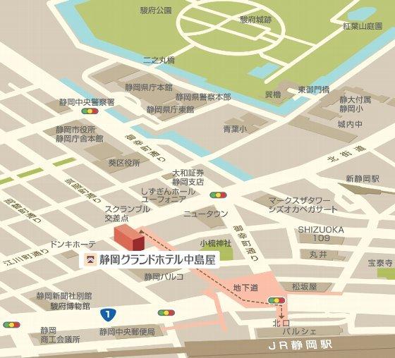 静岡市マップ