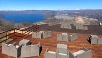 【有珠山ロープウェイ利用券付】リニューアルしたMt.USU Terraceで洞爺湖を一望/ビュッフェ