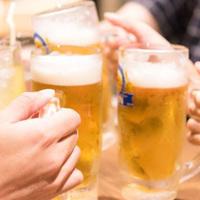 ★60分飲放付★まずは生ビールで乾杯!/ ビュッフェ
