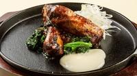 【万世閣オススメ】北海道産豚スペアリブの柔らか焼き〜とろとろチーズと共に〜付/ ビュッフェ