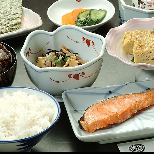 秋田米おいしい朝食