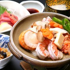 夕食【海鮮陶板焼き】+アサヒ樽生1杯無料のサービス特典◎2食付