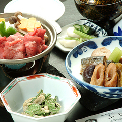 夕食【竹の膳】+アサヒ樽生1杯無料の特典サービス◎2食付
