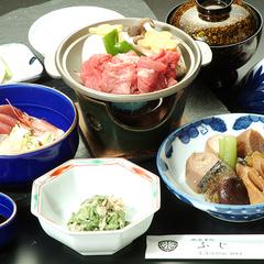 夕食【松の膳】+アサヒ樽生1杯無料のサービス特典◎2食付