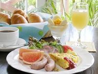 【ファミリー、カップル限定】 朝食付 ★ 夏の1日は楽しい朝食から♪