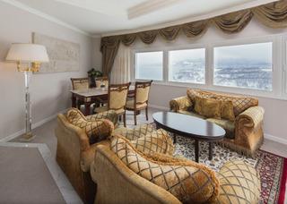 最上階客室オーシャンビュージュニアスイートルーム(禁煙室)