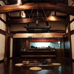 初めての饗家を楽しむ。◆飛騨産ポーク&飛騨牛炭火焼<特別カジュアル懐石>