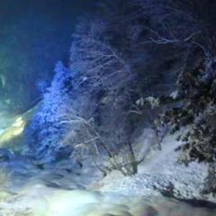 ■平湯大滝結氷まつり■〜毎年大人気♪巨大な氷柱に圧巻!ココロも体も温まる♪湯巡り特典付き♪〜