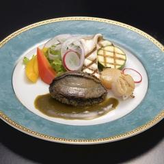 かけ流し貸切風呂満喫し陸奥湾産蝦夷アワビステーキと山崎ポークしゃぶしゃぶをお部屋で食す美食グルメの旅