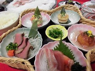 鯛の塩釜〜*花かごプラン*〜【ツイン】