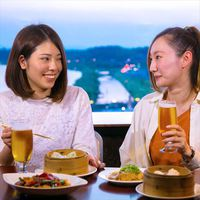 2食付き◎眺め抜群◎最上階ラウンジで【その日の気分でメインをチョイス♪】定番中華を大満喫!