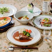 【2食付】お箸で食べられる洋食ディナー&幸せの朝ごはん♪安曇野の小さな別荘気分で過ごす高原の休日