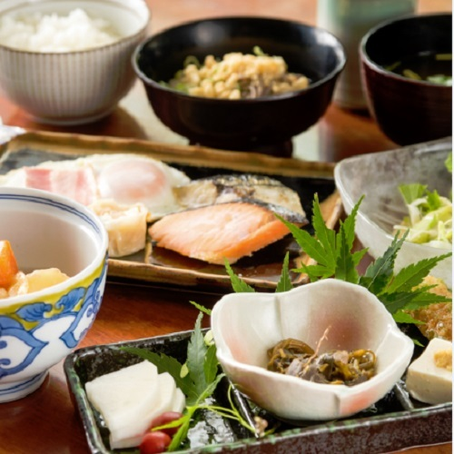 【JAL楽パック限定】【朝食付】手作り、季節、地元にこだわった和洋朝食セットメニュー
