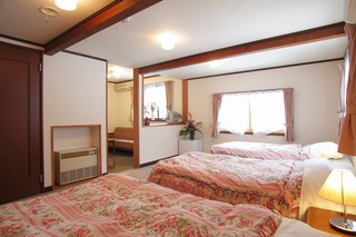 【一番予約の多い部屋♪】20畳の角部屋の洋室、しらかば