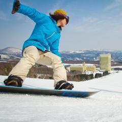 【ポイント10倍】【安比高原スキー場リフト8時間券付】極上の雪質&極上の泉質を満喫♪安比高原での冬旅