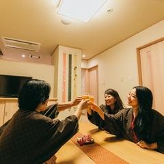 【温泉×女子旅】☆嬉しい4つの特典付☆2か所の貸切風呂無料&女性のお客様にアメニティセット付♪
