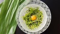 ◆好評につき35年目◆絶品♪山菜釜飯付!山菜づくし『山菜満彩Cコース(14品)』≪貸切風呂無料≫
