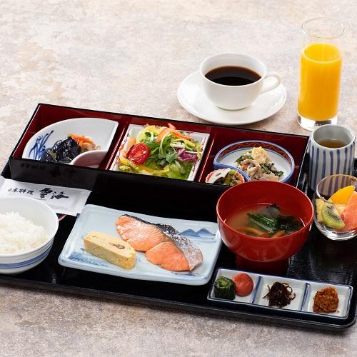 【秋冬旅セール】<選べる朝食>和洋チョイスで安心のセットメニューをお楽しみください