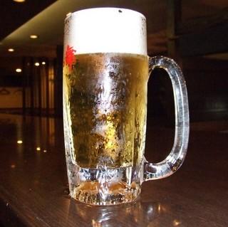 【レストラン花茶屋で飲める】☆ビール付きプラン☆