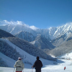 【お先でスノ。】《大町温泉郷から行くスキー&スノボ》鹿島槍スキー場リフト1日券付き素泊まりプラン