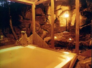 【天然温泉】【展望風呂&露天風呂】を二人占め