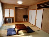 【禁煙】和室12畳タイプ トイレ・洗面所付