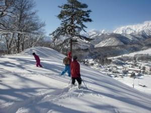 【スキーシーズン】平日限定●冬季スノーシュー散策プラン 無料体験からガイド付きツアーまで対応できます