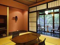 冬の花見館〜四季の情景を楽しむ8畳以上のモダン和室〜