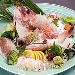 【家族・兄弟・親戚みんなでお祝い】鯛姿造り&白酒大杯付◆特別室・準特別室ご利用プラン
