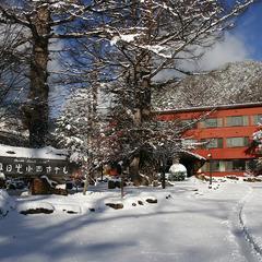 スキー場まで徒歩5分!スキー・スノボと温泉を楽しむプラン★ラクラク!手ぶらで来てもレンタル可!