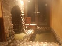 【最新&極上プラン 半露天「ぬる湯洞窟風呂」付客室】夕食お部屋出し&無料の露天風呂貸切40分