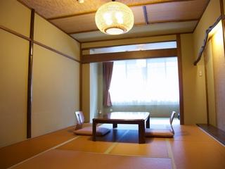 モダンな和室12畳でのんびりできる客室(A)