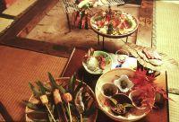 花の弐番客室   【大木の庵で囲炉裏料理を楽しむ】 貸切り露天風呂と囲炉裏深山懐石料理(2階客室)