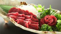 【グルメプラン】信州の味覚を堪能♪信州牛ステーキ&馬刺し<2食付>