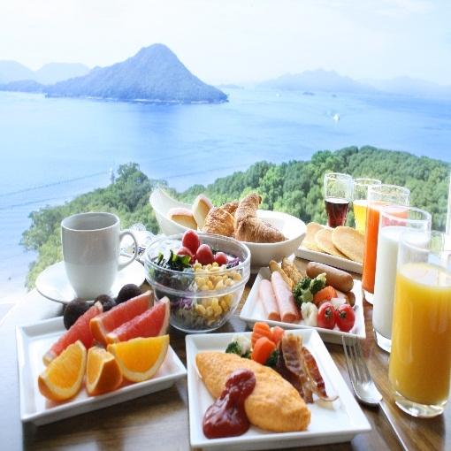 【選べる朝食付】シンプルステイ〜1日の始まりは最上階パノラマ朝食で〜