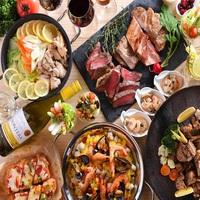 海辺のビアホール【お肉の祭典】飲み食べ放題〜ビール&ワインブッフェ〜