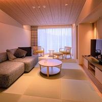 【和モダンスイート/2食付レストラン食】ベッドで過ごす3室だけの上質な和空間