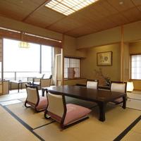 【特別室「利休」】 和室12.5畳 (総檜造り内風呂付)