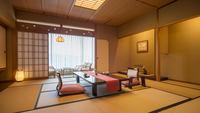 【特別室利休/総檜造り内風呂付】川側最上階12.5畳